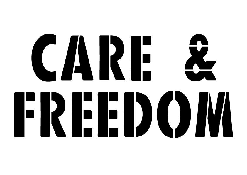 CARE&FREEDOM-STENCIL